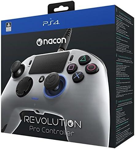 Nacon PS4OFPADREVSILVER Gamepad Playstation 4 Plata Mando y ...
