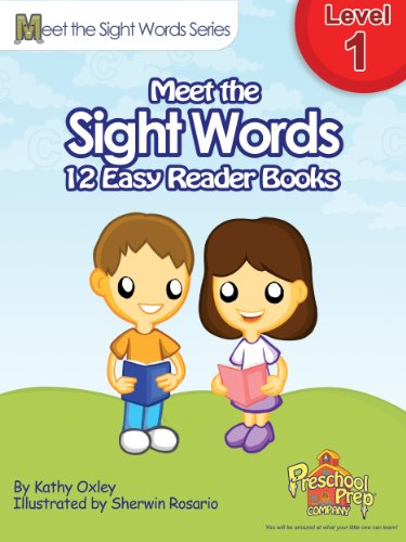 Meet the Sight Words Level 1 Easy Reader Books (set of 12 books) (Meet the Sight Words Easy Reader Books) - Dolch Readers