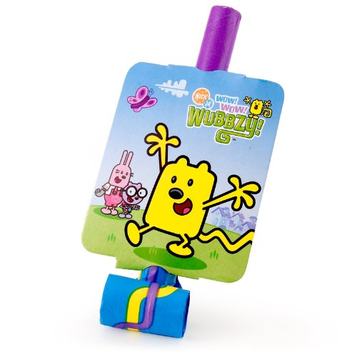 Unique Industries Wubbzy Blowouts - 8 ct -