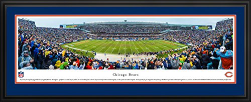 Chicago Bears - 50 Yard Line at Soldier Field - Panoramic Print