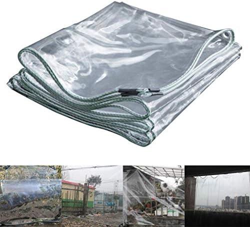 Transparant Rain Cover, transparante waterdichte Heavy Tarp, Window en een balkon Bloem Protection Cover, Warmte van de winter,2 * 2m