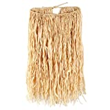 Beistle Adult Raffia Hula Skirt, 32-Inch Width by 30-Inch Length