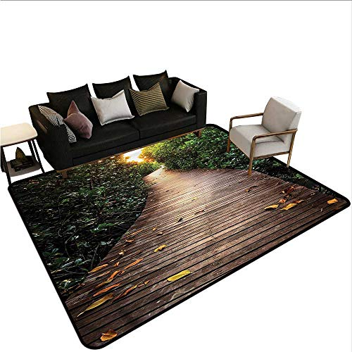Jungle,Dining Table Rugs 64