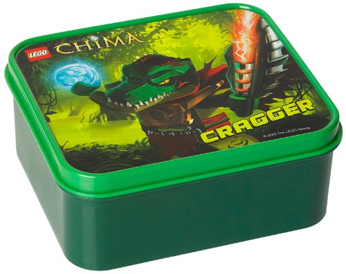 LEGO Legends of Chima Lunch Box, Dark Green (Lego Halloween Costumes)