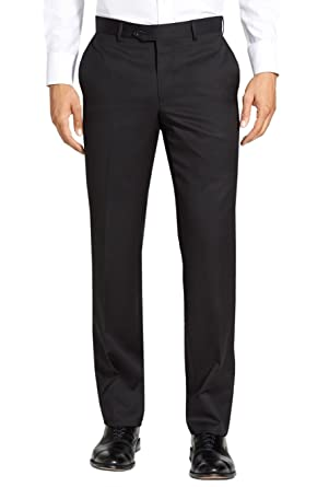 Pants for Men On Sale, Black, Wool, 2017, 34 36 38 Valentino