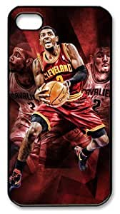 THYde NBA Cleveland Cavaliers # Kyrie Irving Customizable iphone 4/4s Case by icasepersonalized ending