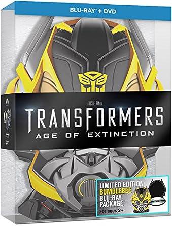 Transformers 4: La Era De La Extinción - Edición Bumblebee BD + BD ...