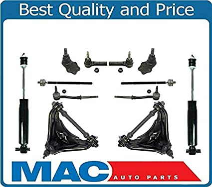 For 96-02 E320 E430 Rear Wheel Drive Only Tie Rods Sway Bar Links Ball Joint 10p
