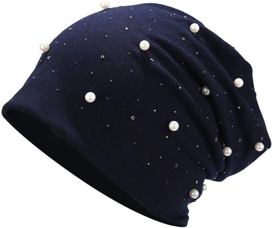 Armfre Tops Womens Slouchy Beanie Chemo Caps Pear Fleece Skull Cap Bandanas Head Wrap Soft Breathable Cancer Headgear Ladies Yoga Beanie Hats