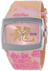 EOS New York Women's 43LPNK Orient Silk Strap Watch