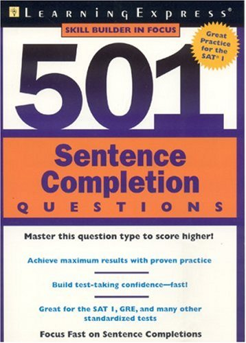 501 Sentence Completion Questions (501 Series)