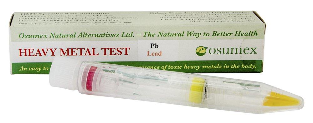 Test Casero de Metales Pesados en Agua - Test para Detección de Plomo: Amazon.es: Salud y cuidado personal