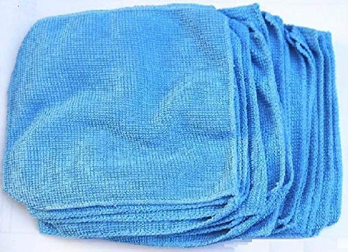 BEESCLOVER 30pcs/lot Soft Washable 15x15mm Microfiber Cleaning Cloth Towel for Camera Lens Glasses Screen Jewelry, Disc Show One Size by BEESCLOVER