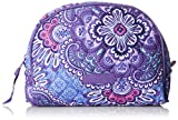 Vera Bradley Medium Zip Cosmetic, Lilac Tapestry