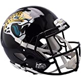 Riddell Sports NFL Jacksonville Jaguars Unisex Speed Authentic Helmetjacksonville Jaguars Speed Authentic Helmet, Black,