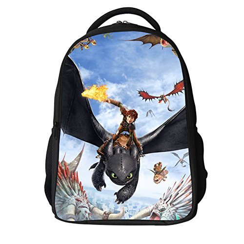 - How to Train Dragon Bag Protagnist Cosplay Polyester Waterproof Backpacks Style C