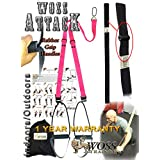 WOSS AttacK Trainer Made in USA - Best PRO Trainer System with Rubber Grips (Pink)