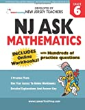 NJ ASK Practice Tests and Online Workbooks - 6th Grade Mathematics - Aligned with the NJ CCCS, Lumos Learning, 1482616386