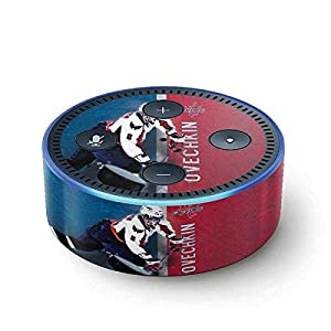 NHL Washington Capitals Echo Dot (2nd Gen, 2016) Skin - Alexander Ovechkin Capitals Action Shot Vinyl Decal Skin For Your Echo Dot (2nd Gen, 2016)
