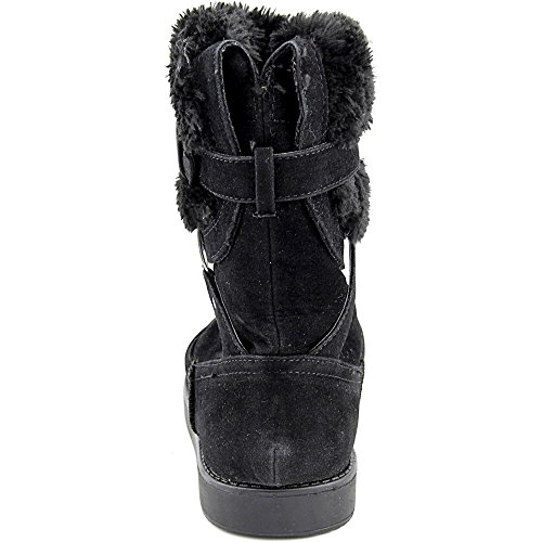G By Guess Alta Suede Winter Boot, Black, Size 7.5