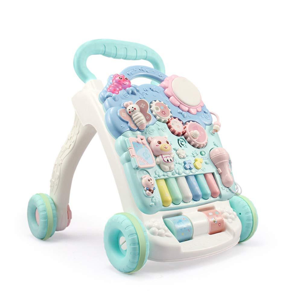 Cochecito de bebé para bebés, juguete multifuncional antivuelco ...