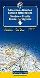 Carte routière et touristique : Croatie - Slovénie - Bosnie