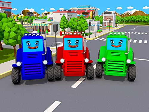 Colored Tractors