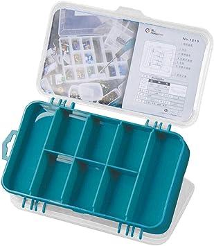 Caja de Piezas portátil con Tornillos de Rejilla múltiple, Caja de ...