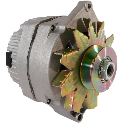 DB Electrical ADR0152Y Alternator for Agriculture & Industrial Applications 1-Wire Hookup, 12 Volt, CW, 63 AMP / 10459509 /8NE10305SE /Used when replacing generator w/wide - Up Hook Alternator One Wire