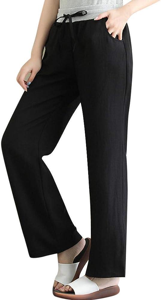 ღLILICATღ Pantalones de Mujer Vendaje, Pantalones de cordón ...