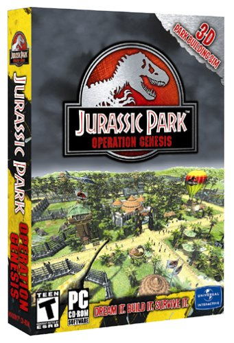 Jurassic Park: Operation Genesis - PC (Jurassic Park Operation Genesis Pc For Sale)