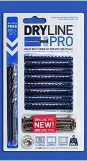 Dot /& Dab 50 Pack Drill Bit Set Wall Anka Heavy Duty Plasterboard Fixings