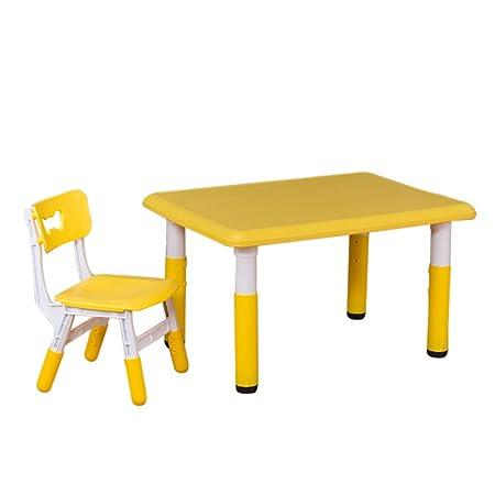 Children Desk Mesa Y Silla De Estudio para Niños Pequeños Altura ...