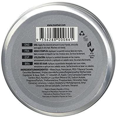 Muk Haircare - Dry Muk Strong Hold Styling Paste, 3.4 Ounce