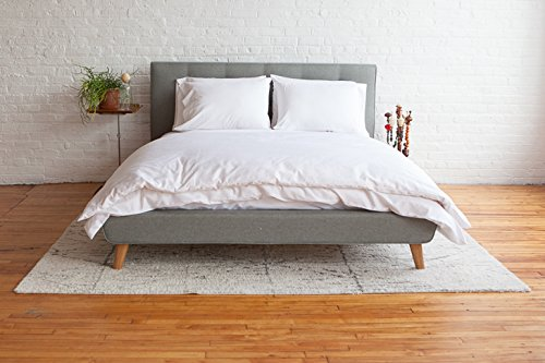 Weiß Lotus Home Futon Matratze, Baumwolle, weiß, X-Large/Twin/20,3cm