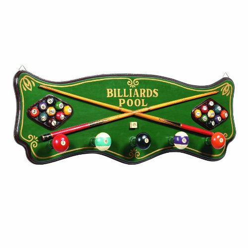 - RAM Gameroom Products Pub Sign Coat Rack, Billiards/Pool