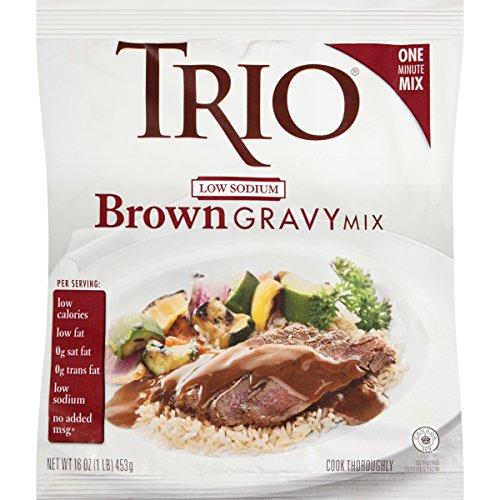 Trio Low Sodium Gravy, Brown, 16-Ounce - Roasted Pork Loin