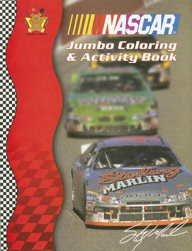 Nascar Coloring Book - Nascar Photo Jumbo Coloring & Activity Book