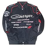 Dodge Charger Embroidered Cotton twill Jacket Size Xlarge