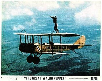 The Great Waldo pepper Original US 8x10 Lobby Card Robert Redford Susan Sarandon