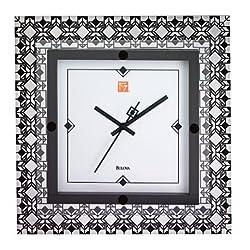 Frank Lloyd Wright Wall Clock Deco Wall Clock by Bulova - C3337