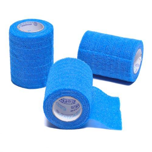 Coflex Nl Compression Bandage Blue 3 3 Pkg Latex Free