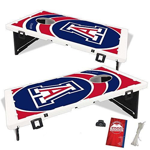 Arizona Wildcats Vortex Baggo Bean Bag Toss Portable Cornhole Game With By  Baggo