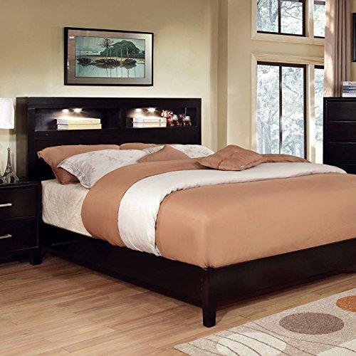 247SHOPATHOME IDF-7290EX-CK Storage Bed, California King, Espresso (King California Bookcase)