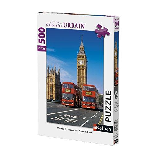 Nathan 87111 - Puzzle Voyage à Londres 500 Pièces