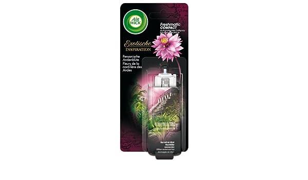 Air Wick Fresh Matic Compact flauta de qué en forma de flor, se puede rellenar: Amazon.es: Electrónica