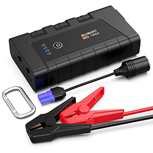 SUAOKI Starter 1000A 12000mAh Battery Portable