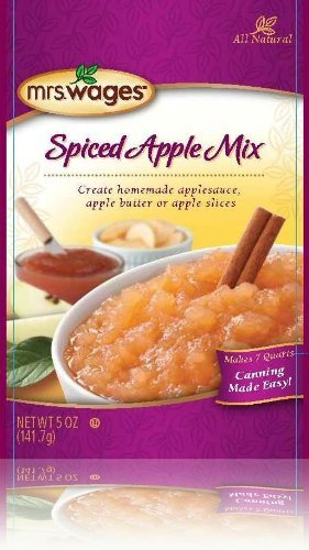 (Mrs Wages Spice Apple Mix-3 Packages-5 Ounces Each)
