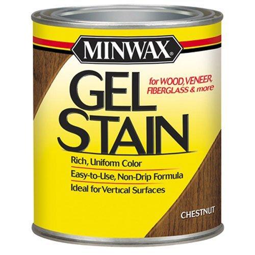 - Minwax 66010000 Gel Stain , quart, Chestnut