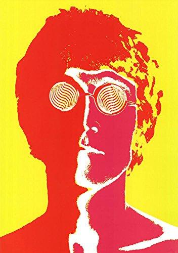 Richard Avedon John Lennon Psychedelic Music Poster Print